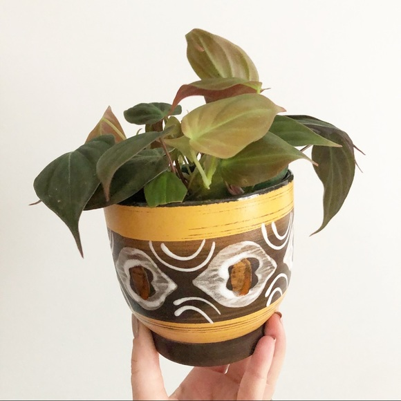 Retro Plant Pot Planter Boho Eclectic Decor